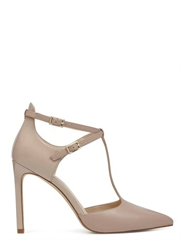 Deri Stiletto Ayakkabı-Nine West